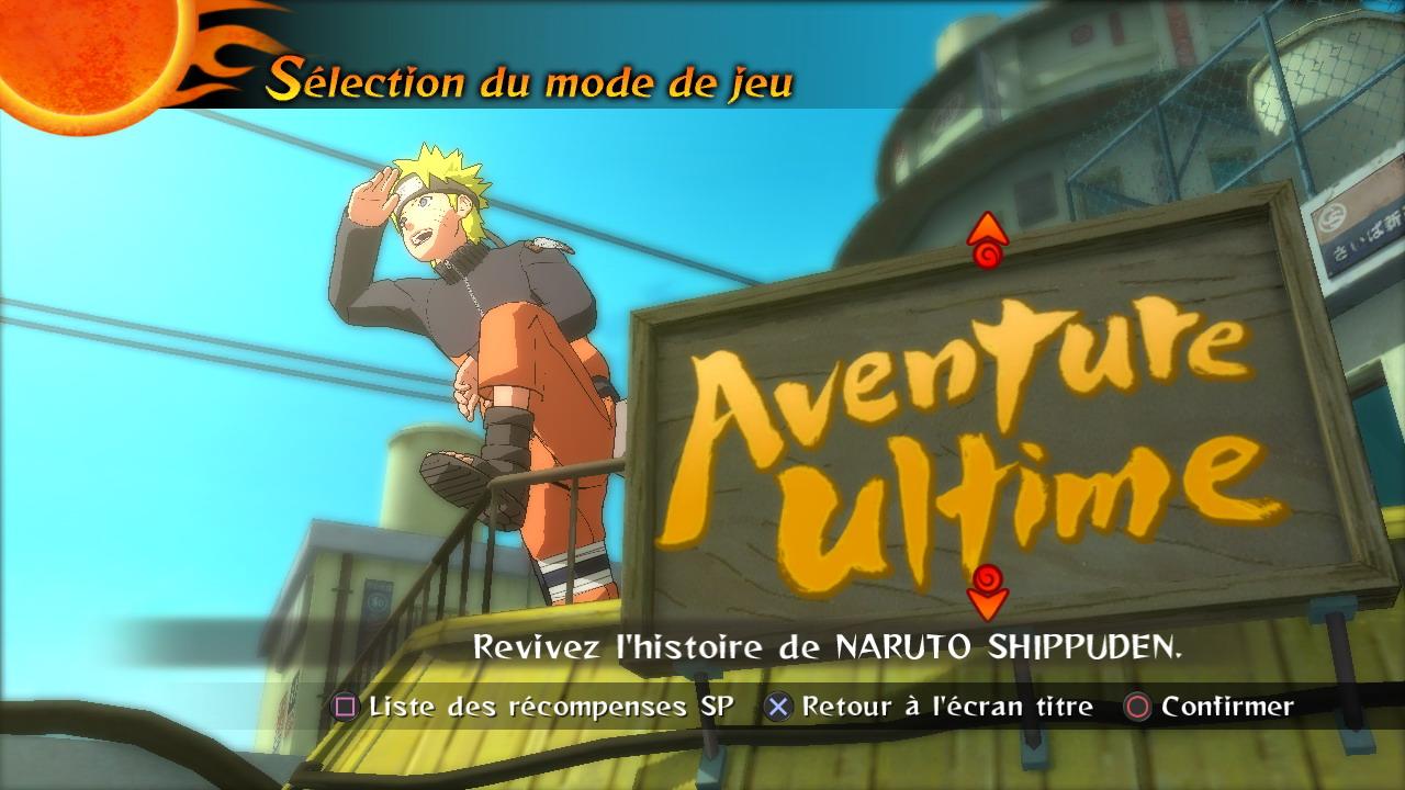 日本版と海外版のメニュー表記の違い。マンガ的な効果を狙って、あえて筆文字のフォントが使用されている(左上から日本語・英語・フランス語・イタリア語・ドイツ語・スペイン語)