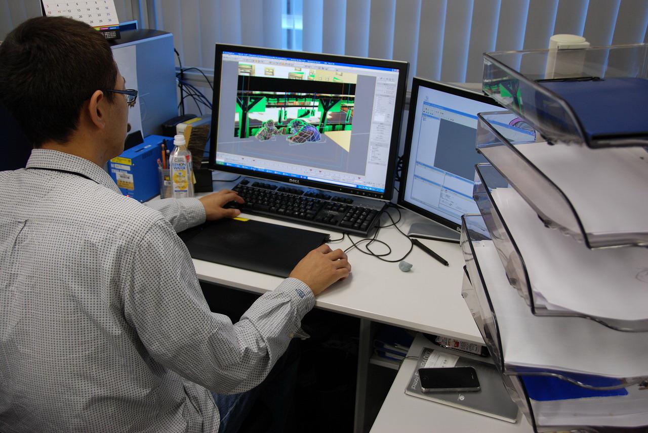 「ソラトロボ」のゲームデザイナーによるレベルデザインの作業風景