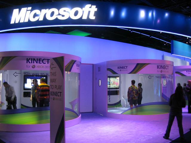Kinect試遊スペースでプレイされていたのは同梱のスポーツゲーム「Kinect Sports」とダンスゲームの「Dance Central」のみ。「Kinect Adventure」も筆者がいる間はプレイされた様子がなかった。新作の体験はなかった模様