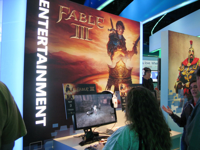 Xbox 360から移植されたWindows版を展示