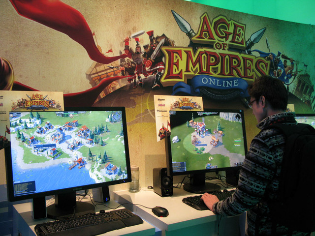 「Age of Empires Online」はインターフェイスが一新されたシリーズの最新作。キャラクターデザインなどがカジュアルゲームを意識したデザインに変更されているのが伺える。リリース時期の詳細は未定だが、来春を予定しているという