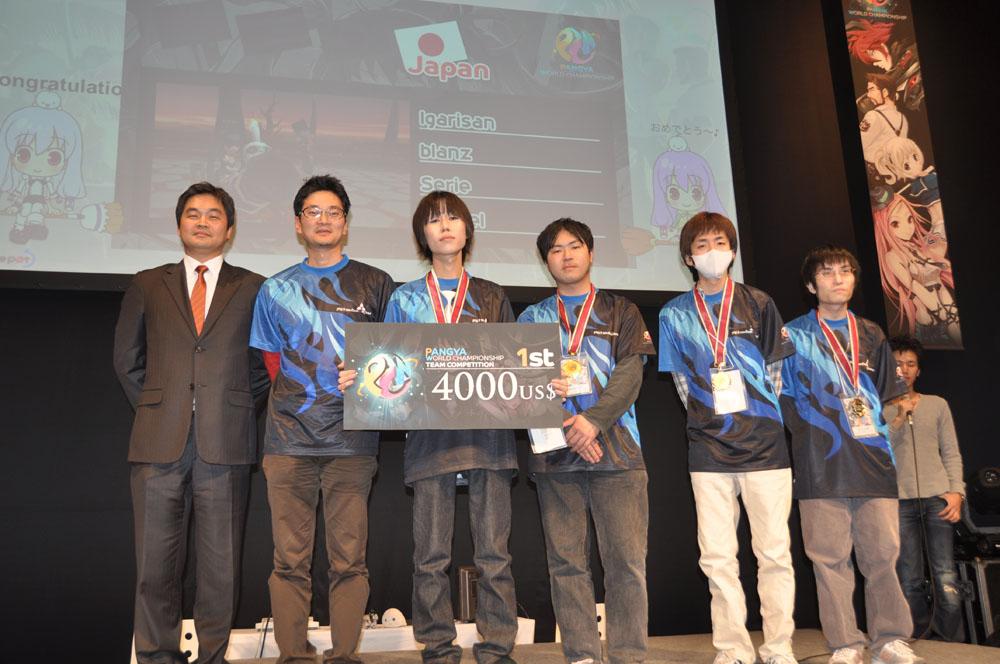 世界1になった日本チーム