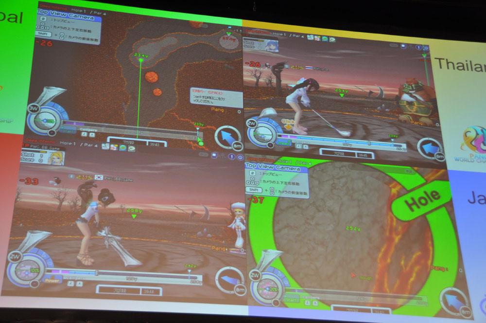 最難関のDeep Infernoそれでもトッププレーヤーはチップインを決めていく。世界大会という緊張感のある舞台で、ミスの許されない環境でのプレイとは思えない正確さだ