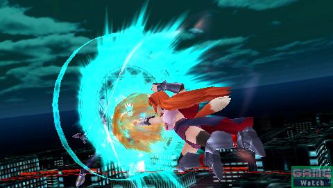相手のバリアを破壊する「バリアブレイク・ストライク」。中間距離からの奇襲攻撃としても重宝する