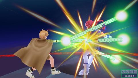 ユーノは肉体を駆使した格闘を苦手とするキャラ。近距離でも魔法の力を借りて戦う