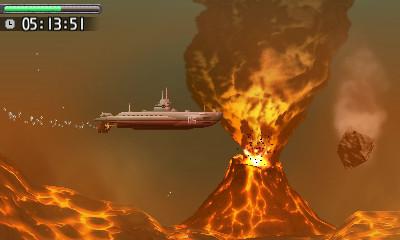海底火山から飛来してくる岩石も避けねばならない