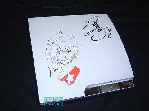 キャラクターデザイン・総作画監督である伊藤嘉之氏描き下ろしのタクトの画稿と、タクト役の宮野真守さんのサイン入りPS3が当たる!