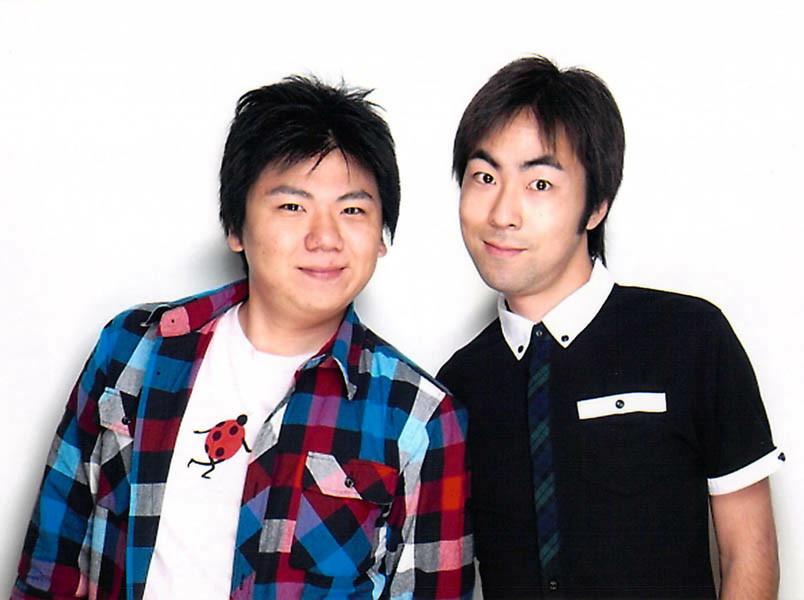 「風人雷人 平岡伸也さん(右)」