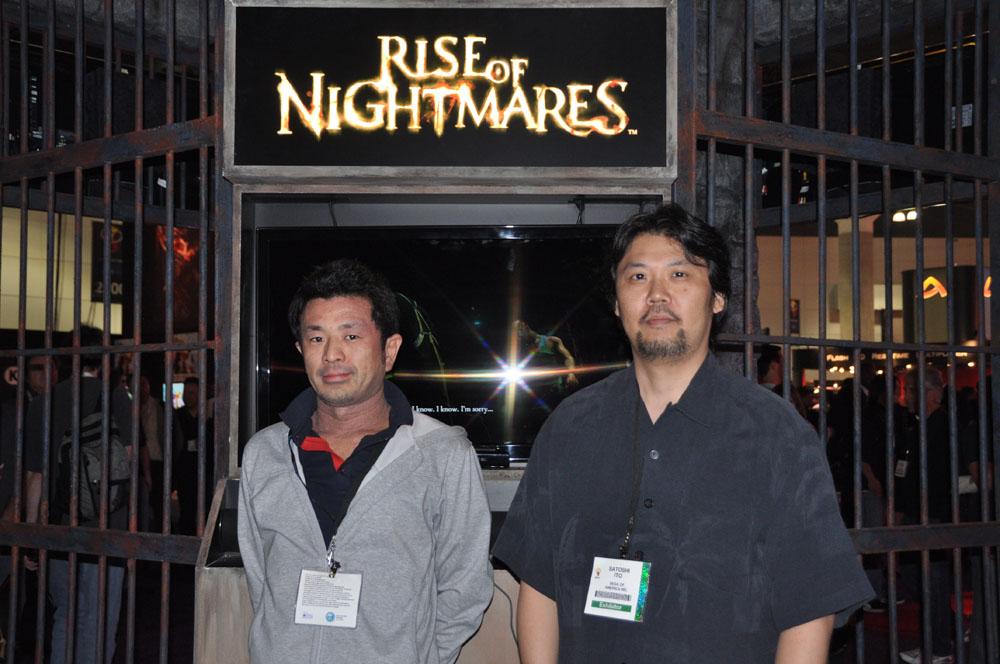 プロデューサーを務める伊東諭史氏(右)と、ディレクターの上田隆太氏
