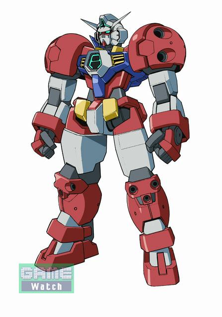 【ガンダムAGE-1 タイタス】<br>AGEシステムにより提案されたガンダムAGE-1の新たな姿。格闘戦に特化しており、圧倒的なパワーで敵をうちくだく