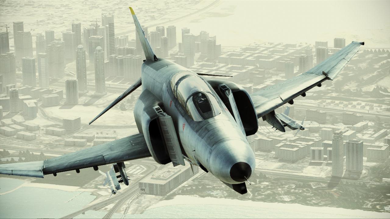 ダウンロードカードのみで入手できる「F-4E PhantomII」