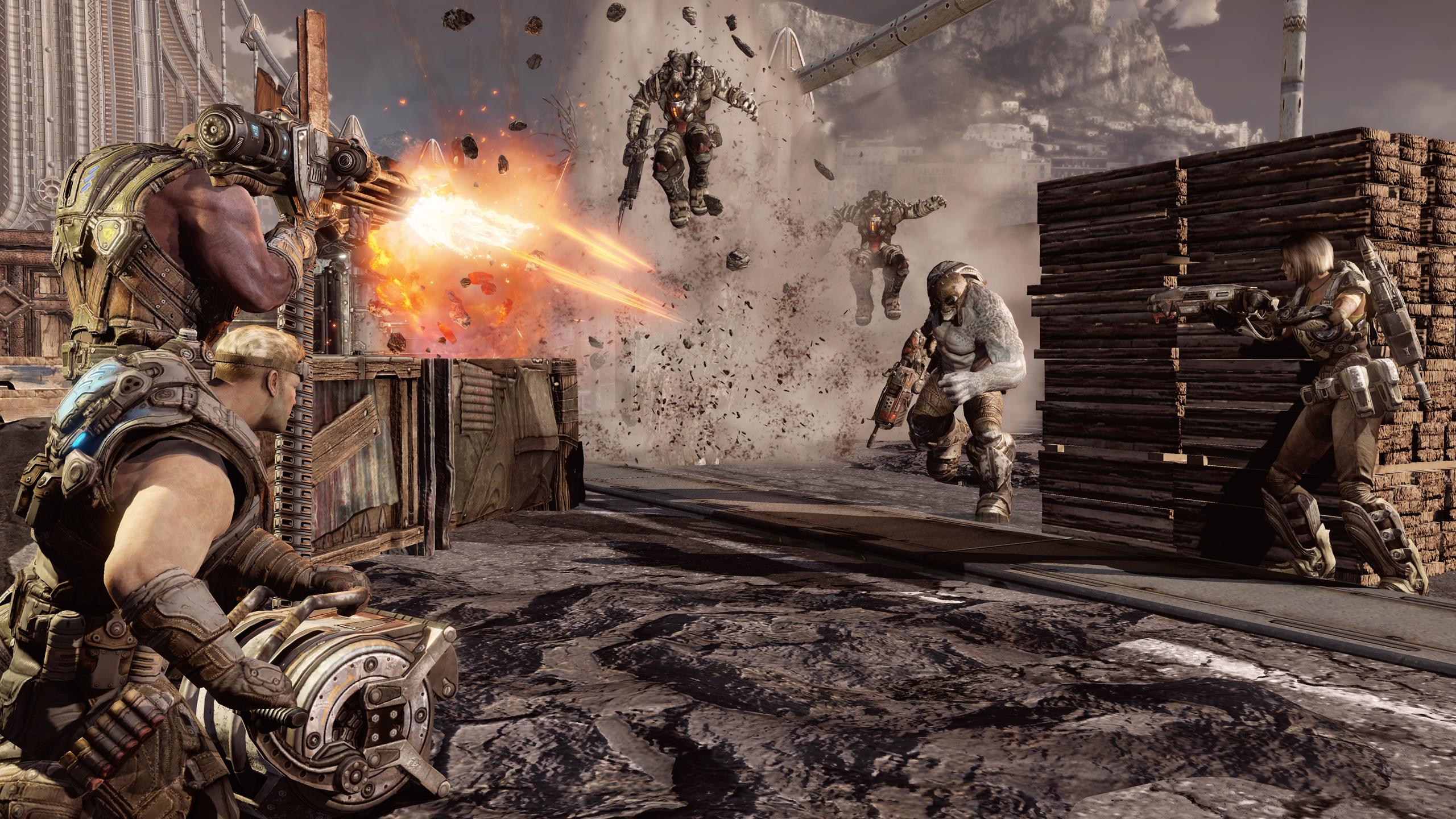 「Gears of War 3」はXbox 360の最高峰グラフィックスを提供する