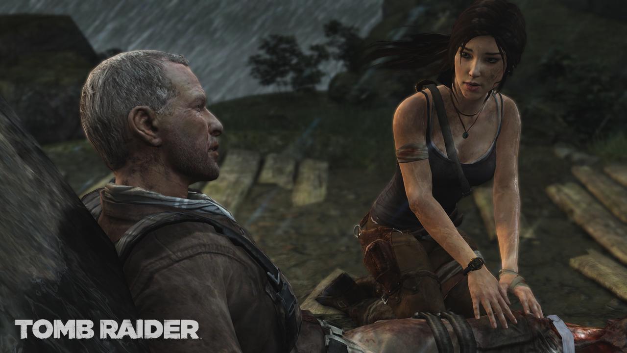 美しくそしてリアルな人肌表現に注目。言われなければこれが「Tomb Raider」シリーズの主人公ララ・クロフトだと気がつかない人も多いかも?