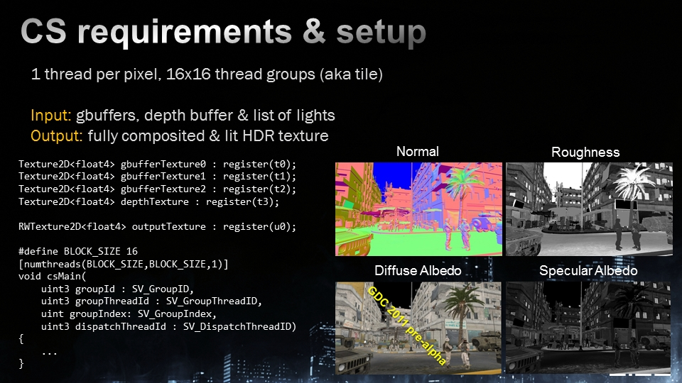 Frostbite 2エンジンのWindows PC版はDirectX 11のDirectComputeに対応。世にも珍しいGPGPUをレンダリングパイプラインに組み込んだハイブレッドレンダリングエンジンが特徴だ