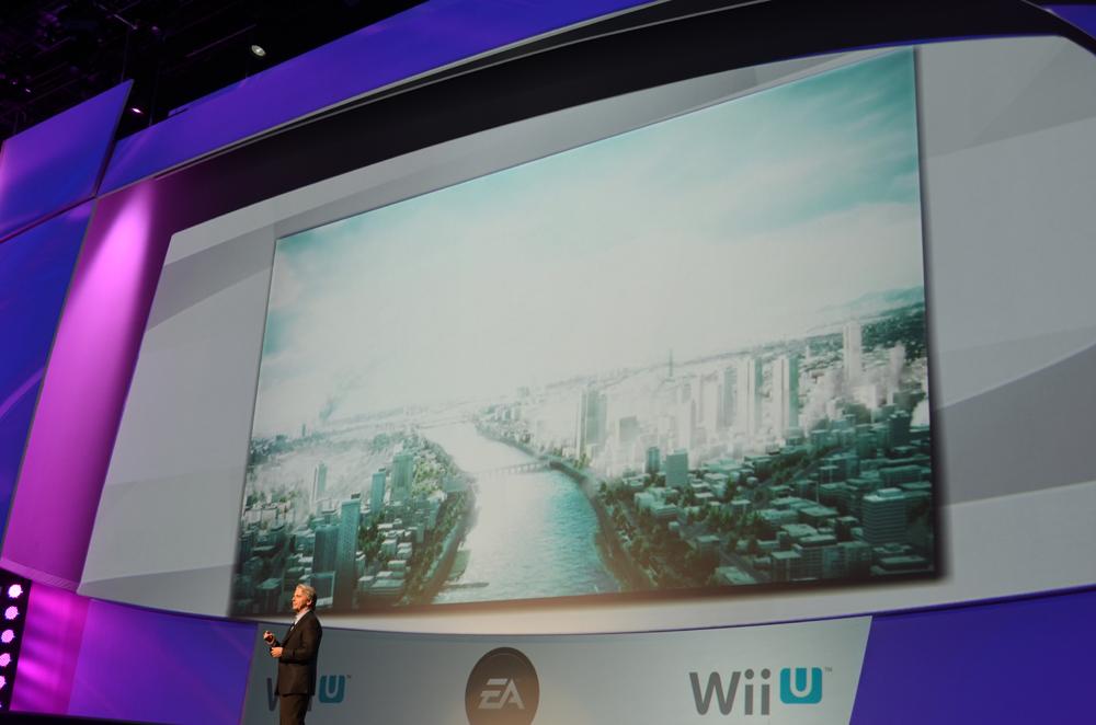 Riccitiello氏は「Frostbite 2」エンジンがWii Uで動作し、「Battlefield 3」がフルスペックで動作する」と予告した