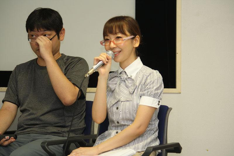 司会進行も務めた声優の磯村知美さん