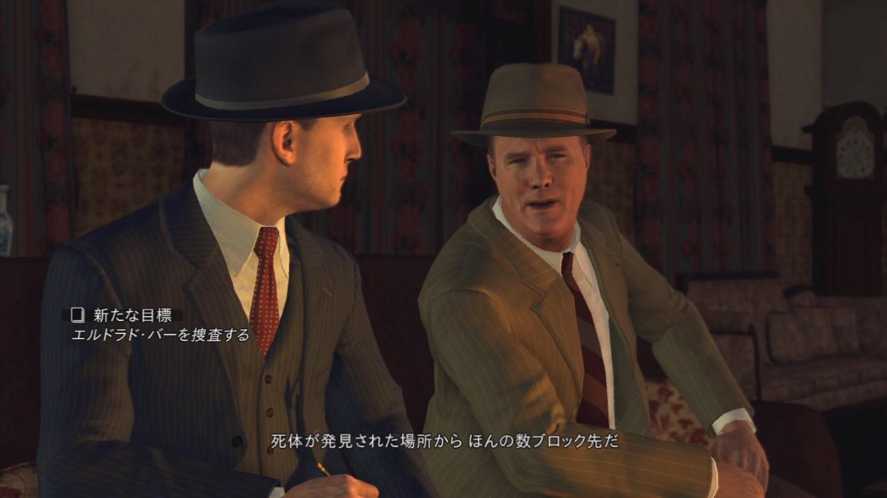 相棒のギャロウェイ刑事。頭が固いが、独得のユーモアがある