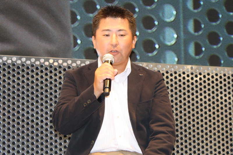 開発プロデューサーの藤重和博氏