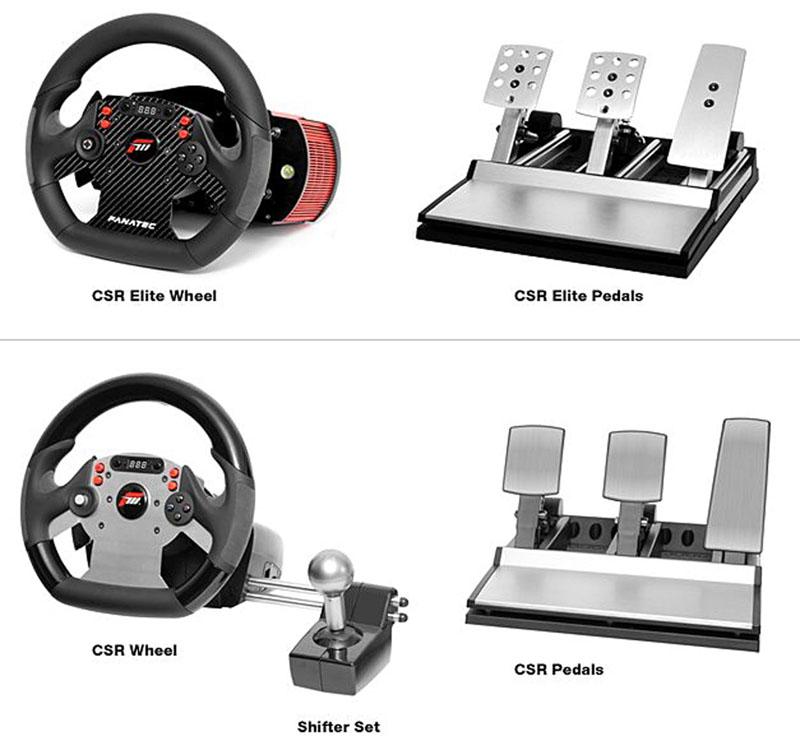 「Forza Motorsport CSR」製品ラインナップ