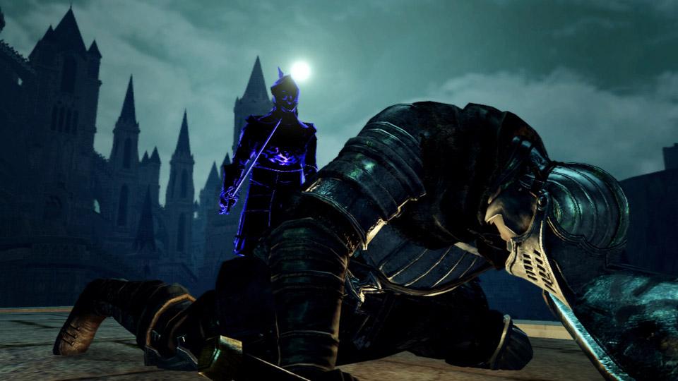 罪人であるダークレイスや、ある条件のプレーヤーを狙う「暗月の剣」の誓約。プレーヤーはダークレイスと敵対し、復讐霊として侵入する