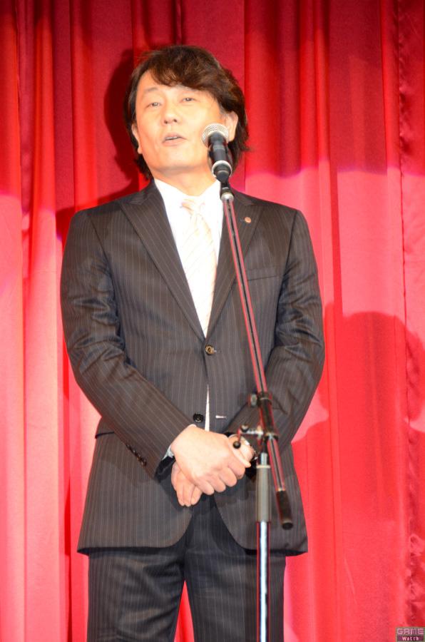 執行役員 eAMUSEMENTスタジオ コンテンツオフィサーの沖田勝典氏