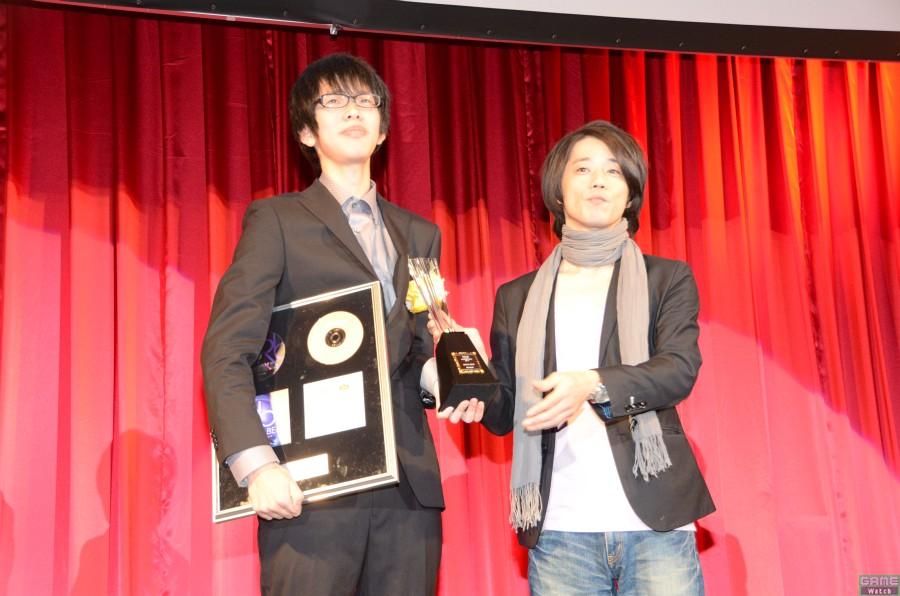 チャンピオン:N.E.X.Tさん、スペシャルプレゼンター:DJ Yoshitaka氏(ディレクター)