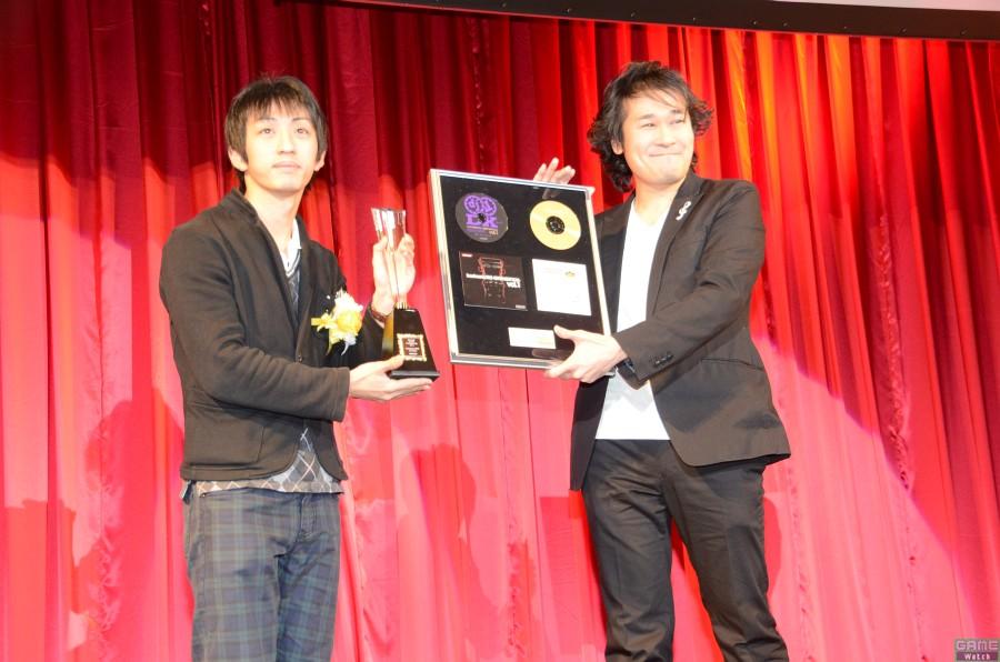 チャンピオン:DOLCEさん、スペシャルプレゼンター:dj TAKA氏(サウンドプロデューサー)