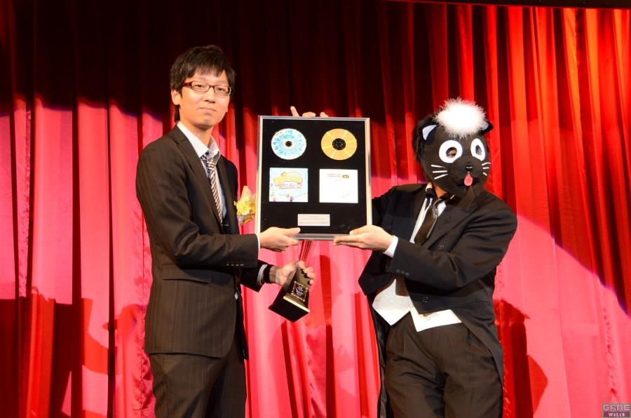 チャンピオン:TATSUさん、スペシャルプレゼンター:wac氏(サウンドディレクター)