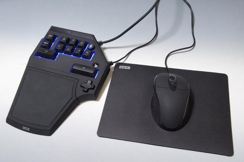 キーボードとマウスという構成の「タクティカルアサルトコマンダー3」