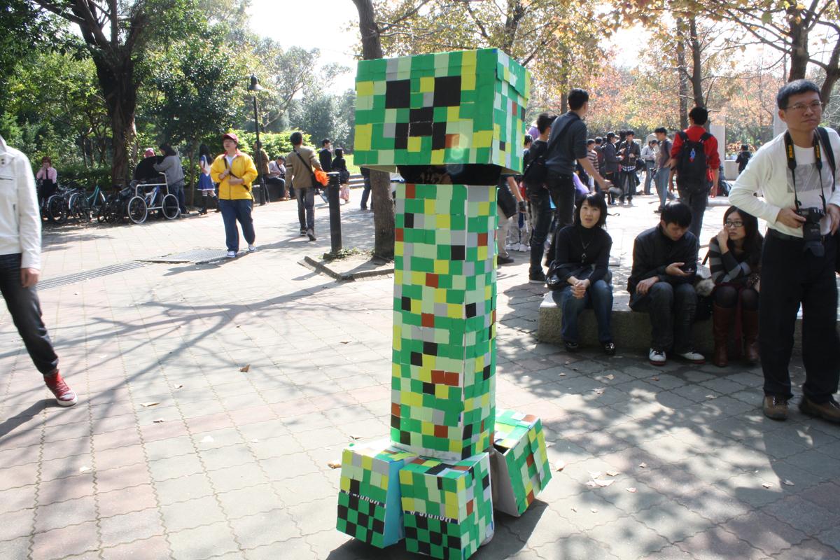 「Minecraft」のモンスター「クリーパー」