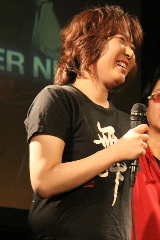佐宗 綾子さんは、ファン感涙の後半の「Nitro Mantra」、「Nitro Witch」の「Nitro」つながりから「RAVE RACER」の「EUPHORIA」への流れで会場はもうヘロヘロに(笑)