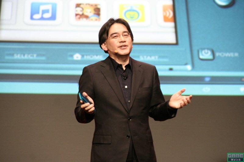 GDC 2011で基調講演を行なう任天堂代表取締役社長 岩田聡氏