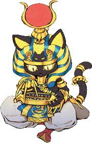 <b>マルネコ・ポーロ</b>:商魂たくましい商売人のネコ。ツケを踏み倒した相手を探して借金を取り立てるために旅をする。自身のショップ「まるネコ屋」では、多くの品揃えと関西弁でお客を迎え入れる