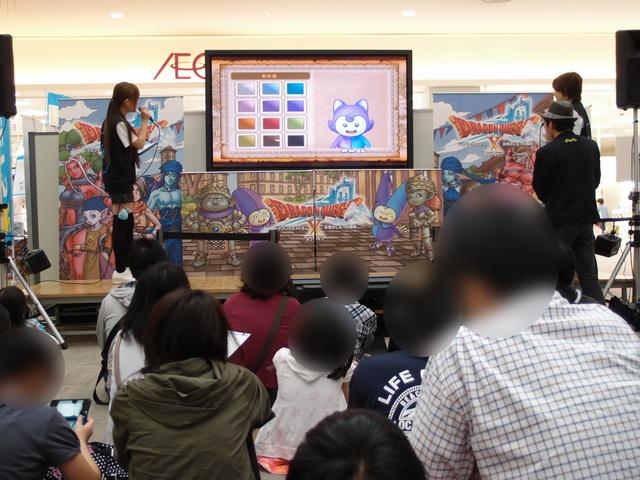 「プレゼンステージ」では、ステージイベント用に用意されたデモ機を使ってゲームを体験する