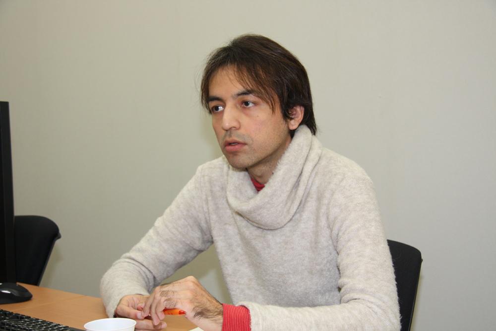 新井 タヒル氏(シリコンスタジオ、リサーチ&デベロプメント部、第1ソフトウェア開発グループ)