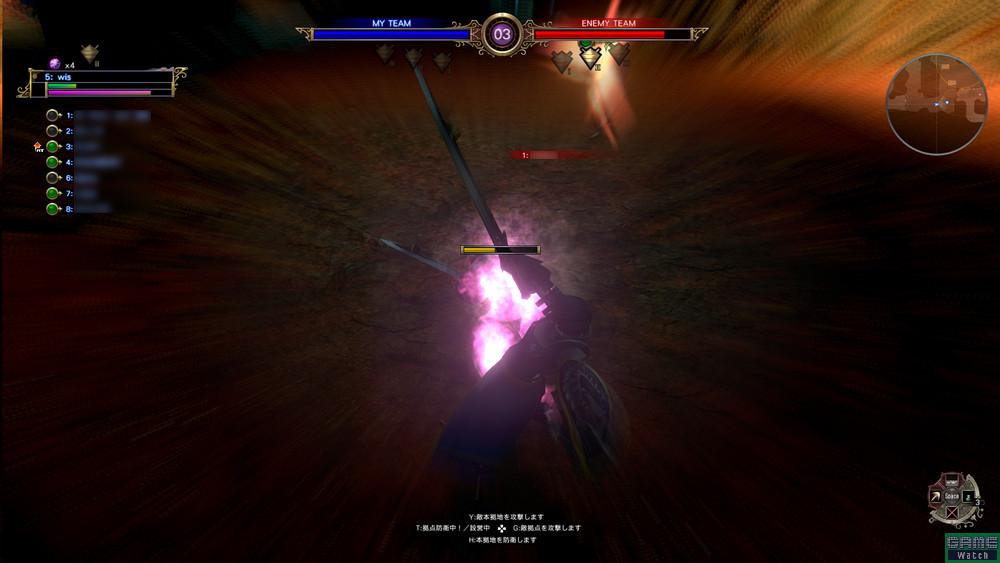 接近してしまえば「ストライカー」は圧倒的に強い。攻撃力も高く、混戦を打破する力がある