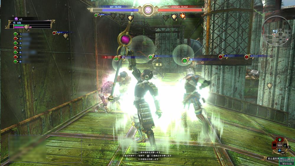 攻撃力の乏しい「キャスター」は他のプレーヤーとともに行動したい。味方を回復すれば最後のスコア集計に反映される