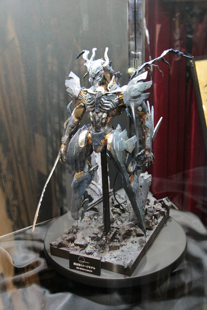 新川氏、鳥山氏によって制作された「検討用イメージモデル」が新宿バルト9の10階のカフェ オアゼにて展示されていた。