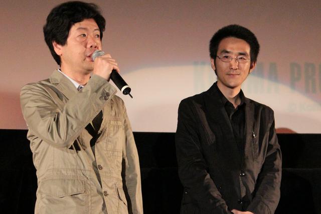 近藤氏(左)と山地氏(右)
