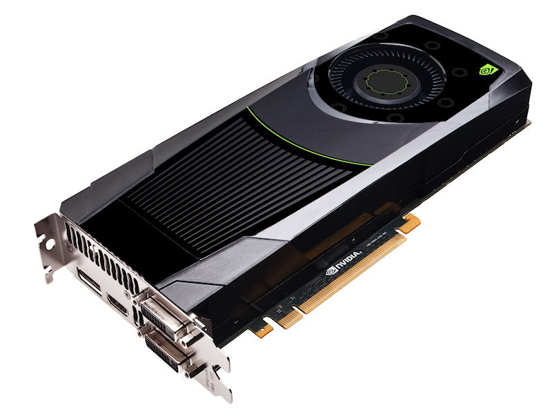 NVIDIAのGeForce GTX 680を搭載したビデオカード。ワットあたりのパフォーマンスが高く、GeForce GTX 680を2つ搭載したGeForce GTX 690を除けば、現行のビデオカードとしては最強クラスのグラフィックス性能を誇る。搭載されたビデオカードはZOTACの製品が採用されており、形状からリファレンスモデルと思われる