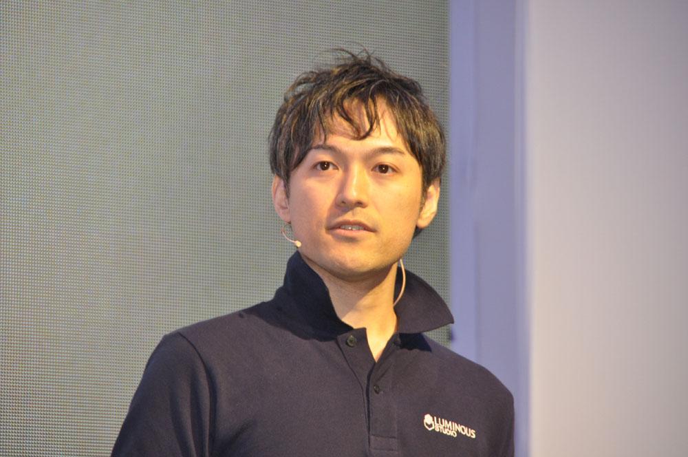 スクウェア・エニックス 東京スタジオチーフテクノロジーオフィサーの橋本善久氏