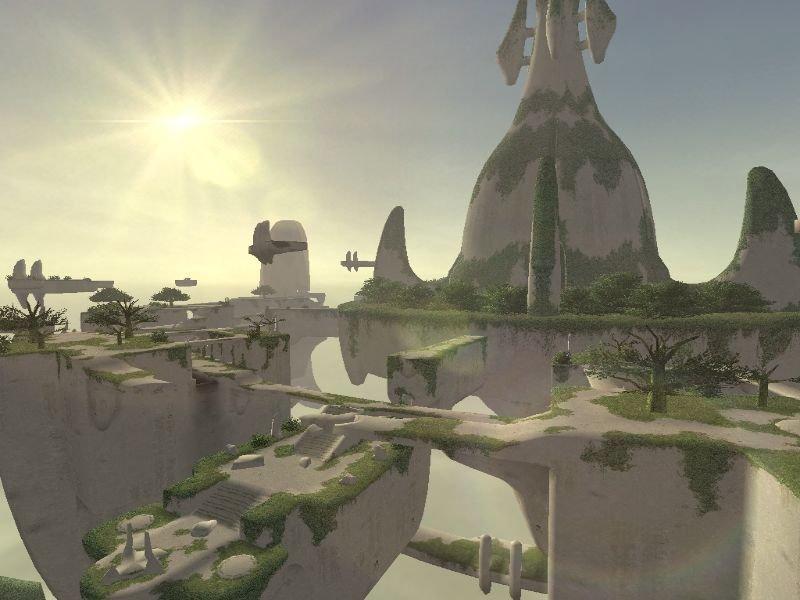 「FFXI」の拡張ディスク第1弾「ジラートの幻影」で実装された最終目的地「トゥー・リア」。天空の城を求めて多くの冒険者がミッションにチャレンジした。新生「FFXIV」でもこの流れが生み出せるのだろうか?