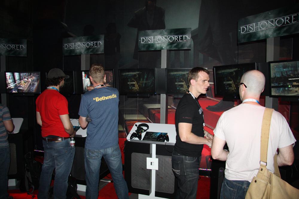 「Dishonored」試遊コーナー