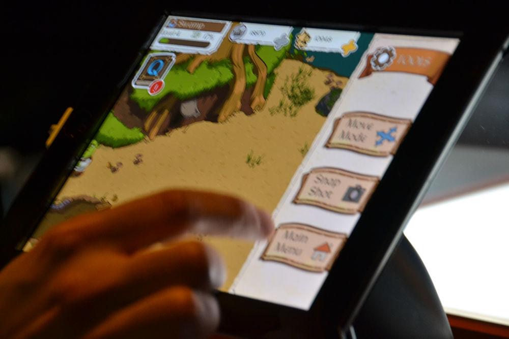 Beeline Interactiveの「Shrek's Fairytale Kingdom」も出展