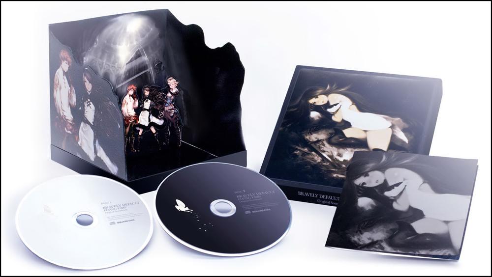【初回生産限定盤】「ブレイブリー デフォルト フライング フェアリー」オリジナル・サウンドトラック<br>発売日:2012年発売予定