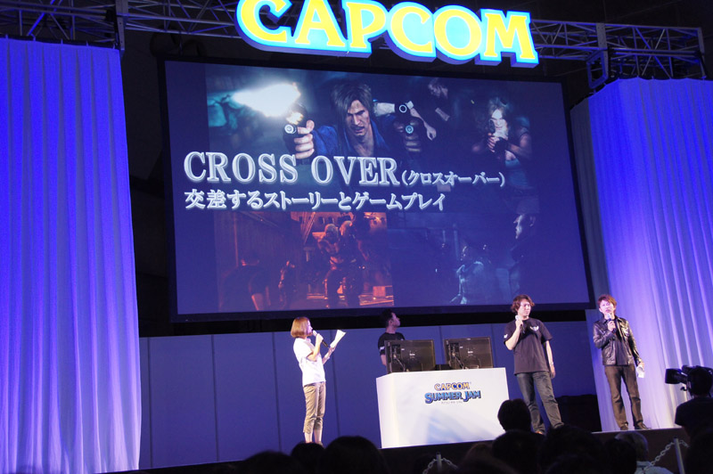 3人が出会い、ストーリーとゲームプレイがクロスオーバーする模様もデモで紹介された