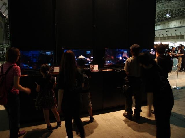 「バイオハザード オペレーション・ラクーンシティ」と「バイオハザード クロニクルズ HDセレクション」は、いずれもPS3の体験版が4台ずつ用意されている