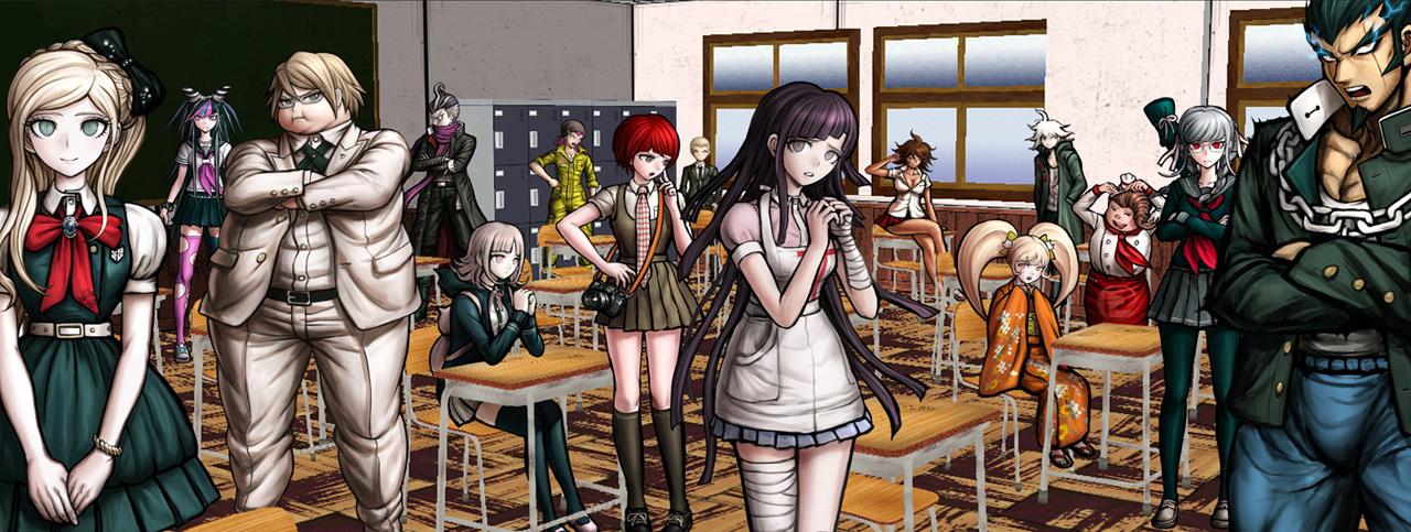 超高校級のキャラクターが全員集合。今回はどういった物語が展開するのだろうか?