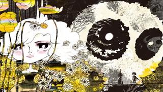 タナカカツキ氏によるイラスト壁紙。公式ホームページにおいて公開される