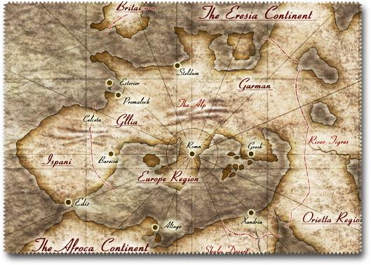 PS Vita用クロスクリーナー「アドルの世界地図」